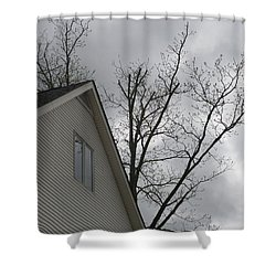 Wicked Weather Shower Curtain by Rosie Brown