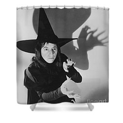 Wicked Witch Of The West Shower Curtain by Granger
