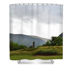 Shower Curtain featuring the photograph Wicklow Mountains by Terence Davis
