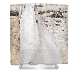 Out On The Wiley Windy Moors Shower Curtain