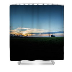 Shower Curtain featuring the photograph Wide Open Spaces by Shane Holsclaw