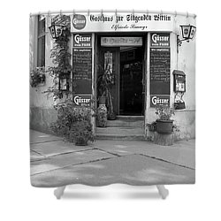Wiener Wirtshaus Shower Curtain