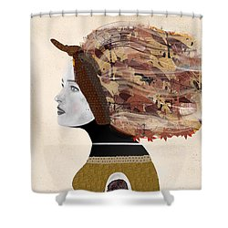 Shower Curtain featuring the painting Wild Autumn by Bri B