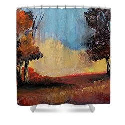 Wild Beautiful Places Trees Landscape Shower Curtain