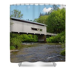 Wild Cat Bridge No. 2 Shower Curtain