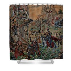 Wild Fantasy Shower Curtain