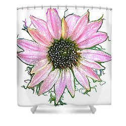 Shower Curtain featuring the photograph Wild Flower Four by Heidi Smith