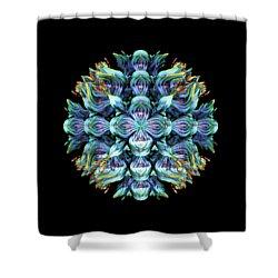 Shower Curtain featuring the digital art Wild Flower by Lyle Hatch