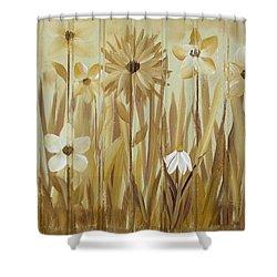 Wild Flowers Shower Curtain