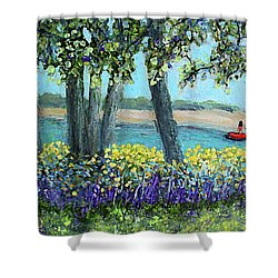Wild Flowers Of Falmouth Ma Shower Curtain
