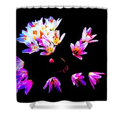 Wild Garlic Shower Curtain