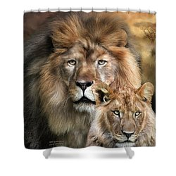 Wild Generations Shower Curtain by Carol Cavalaris