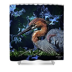 Wild Goliath Herona Shower Curtain