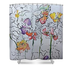 Wild Menagerie  Shower Curtain