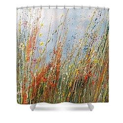 Wild N Hay Shower Curtain