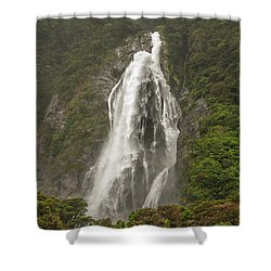 Wild New Zealand Shower Curtain