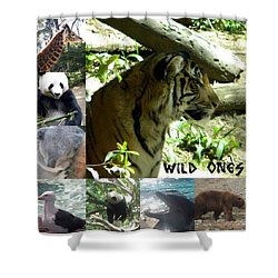 Wild Ones Shower Curtain