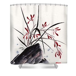 Open Hearts Shower Curtain