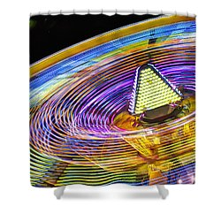 Wild Ride Shower Curtain by John Swartz