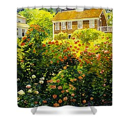 Wild Rose Country Shower Curtain