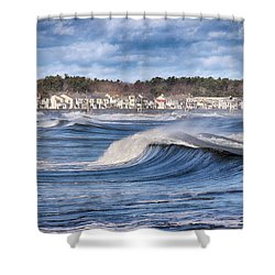 Wild Seas Shower Curtain