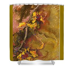 Wild Sunflowers Shower Curtain