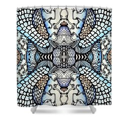 Wild Thoughts Shower Curtain