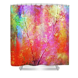 Wild, Wild, Witch Hazel Shower Curtain