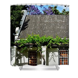 Shower Curtain featuring the photograph wild Wine by Werner Lehmann