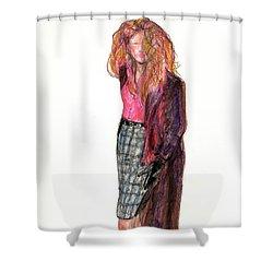 Wild Woman Shower Curtain