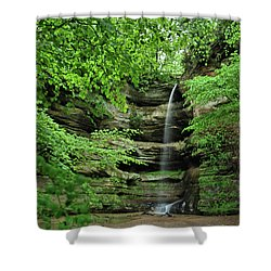 Wildcat Canyon Falls Shower Curtain