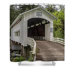 Wildcat Creek Bridge No. 1 Shower Curtain