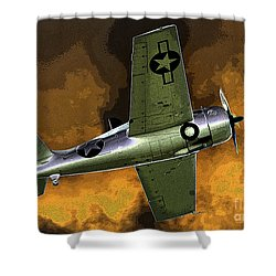 Wildcat Shower Curtain by David Lee Thompson