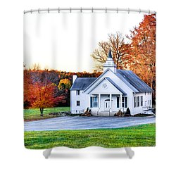 Wilderness Church Shower Curtain