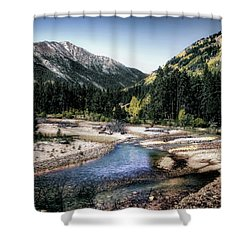 Wilderness Creek Shower Curtain