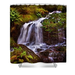 Wilderness. Rest And Be Thankful. Scotland Shower Curtain