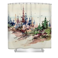 Wilderness Shower Curtain