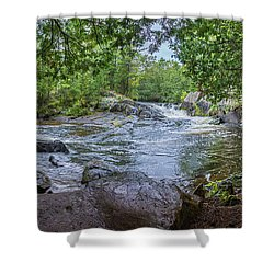 Shower Curtain featuring the photograph Wilderness Waterway by Bill Pevlor