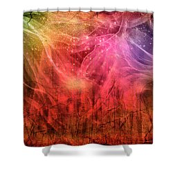 Wildfire Shower Curtain