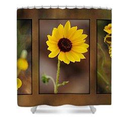 Wildflower 3 Shower Curtain by Jill Reger