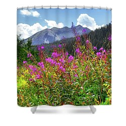 Wildflower Capital Shower Curtain