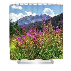 Wildflower Capital Shower Curtain