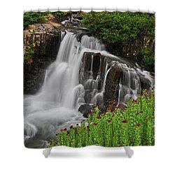 Wildflower Falls Shower Curtain