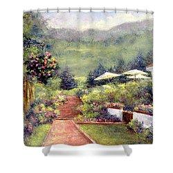 Wildflower Inn Shower Curtain