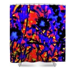 Wildflower Medley Shower Curtain by Gina O'Brien