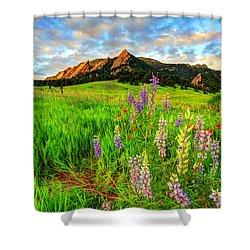 Wildflower Mix Shower Curtain