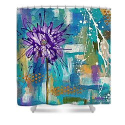 Wildflower No. 1 Shower Curtain