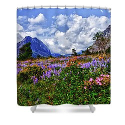 Wildflower Profusion Shower Curtain