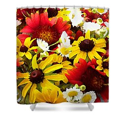 Wildflower Riot Shower Curtain