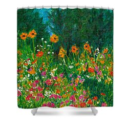 Wildflower Rush Shower Curtain